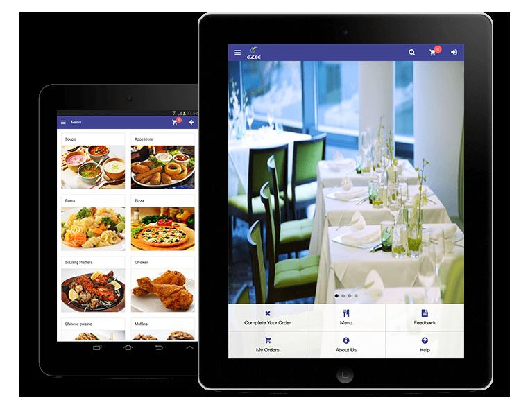 digital restaurant menu amc system